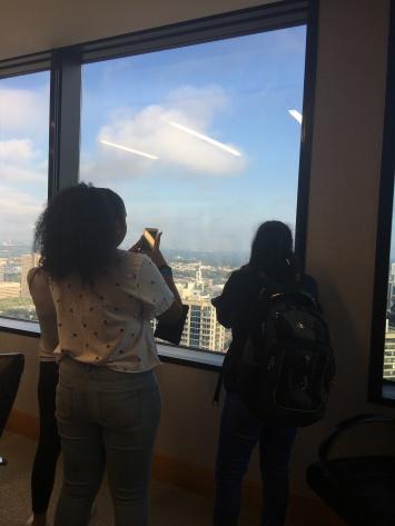 Laisha Monteiro & Nada Abdalla at Drew Eckl & Farnham