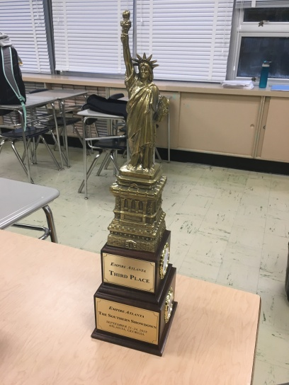 our trophy!!!!!!!!!!!