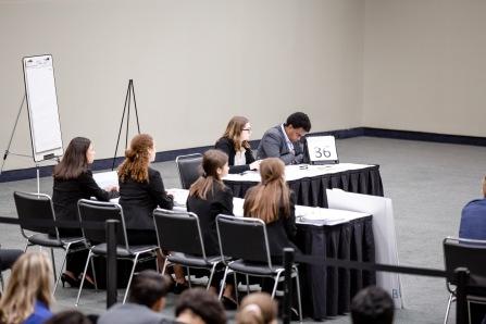 Lily Fleischer (separate table), Maddie Ballan, Daisy Oberfeld, Jenifer Fridman, Lexi Taylor