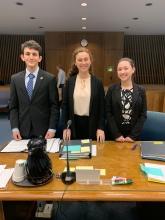 (2/5/19) Jacob Epstein, Daisy Oberfeld, Maddie Ballan