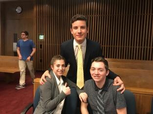 (2/21/19) Elise Glaser, Zach Hermann, Ethan Selko