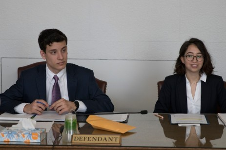 L to R: Ethan Selko and Rita Rozental